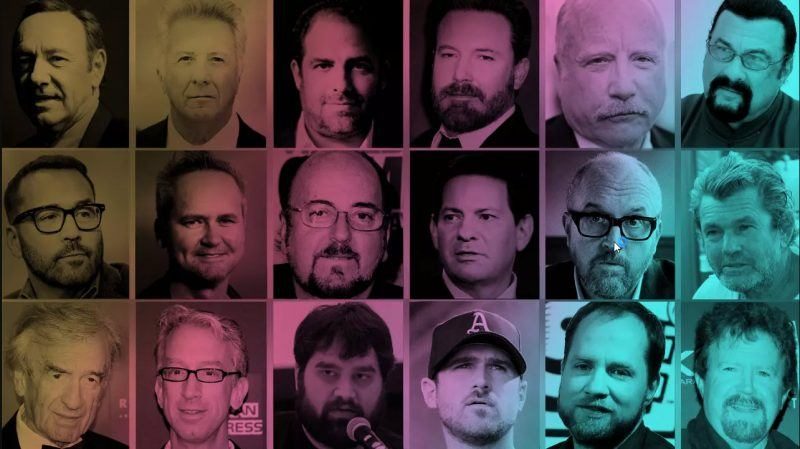 men accused of sexual harassment misconduct hollywood sports