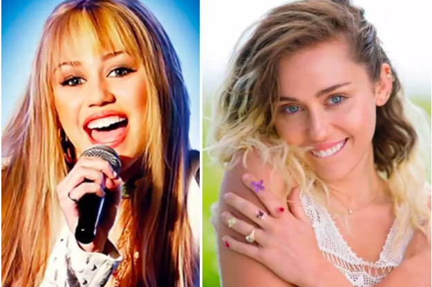 miley cyrus on hannah montana toddlers and tieras