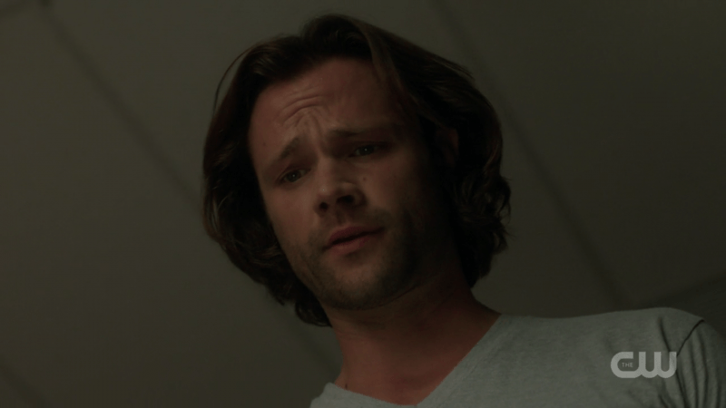 sam winchester confused on bed partner supernatural 1305