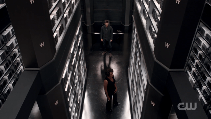 supernatural cool shot hallway
