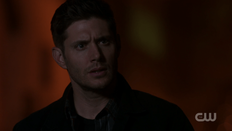 dean winchester red supernatural background shot 1305