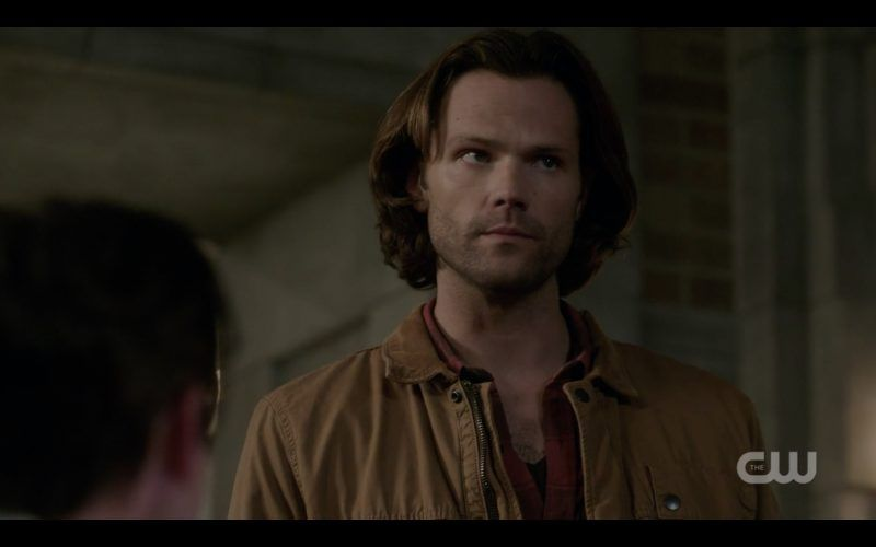sam winchester sees castiel return from dead supernatural tombstone