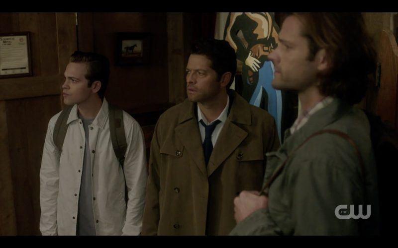 castiel sam dean winchester enter western theme motel excited supernatural tombstone