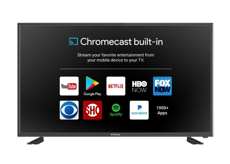 polaroid tv with google chromecast hot black friday deals 2017