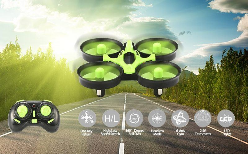 EACHINE E010 Mini UFO Quadcopter Drone 2017 hot holiday tech kids toys