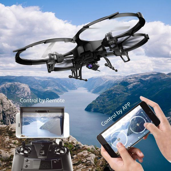 WIFI FPV Version U818A Drone with 720P HD Camera hot holiday tech toys 2017