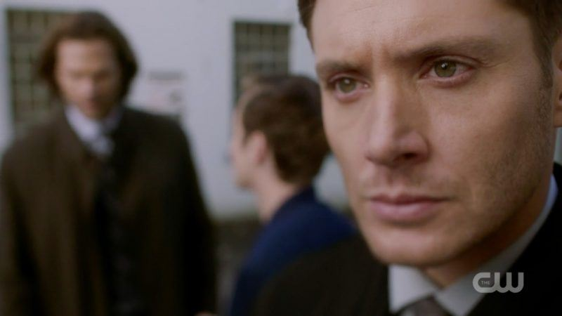 dean winchester angry at jack touching sams bad place 1309