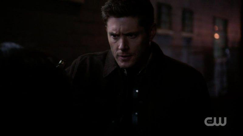 supernatural dean loses it with gun get in the damn car