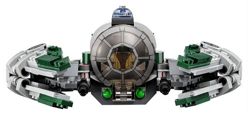 LEGO Star Wars Yoda's Jedi Starfighter 75168 Star Wars Toy hot holiday geek gifts 2017