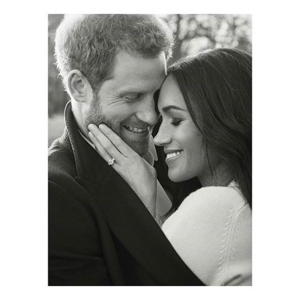 prince harry with meghan markle ring