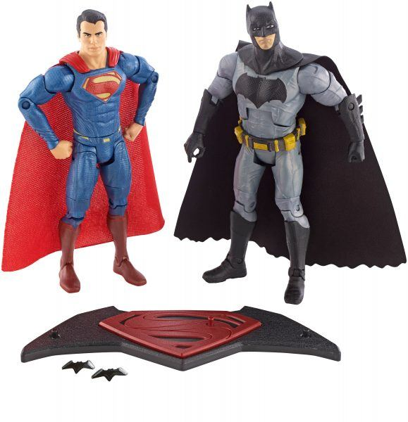 batman vs superman dawn of justice figure 2 pack hot holiday toys 2017