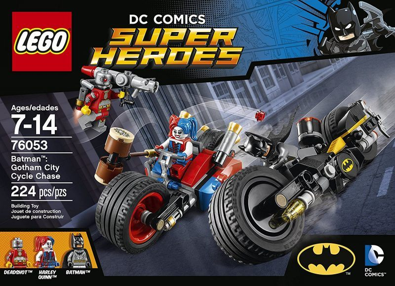 LEGO Super Heroes Batman Gotham City Cycle Chase 76053 HOT HOLIDAY TOYS