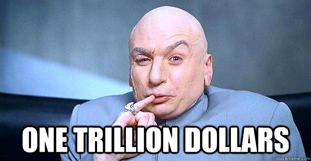 dr evil on trillion dollars for apple iphones