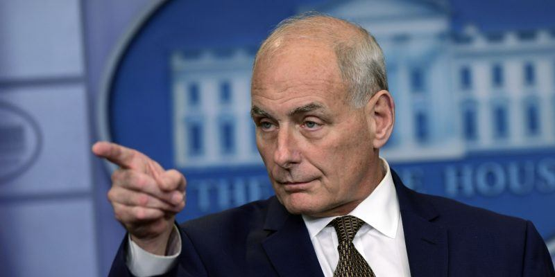 john kelly comes in for reince preibus donald trump